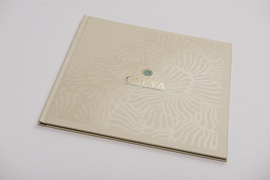 Beach Front Residences brochure, Oséya, printed by Précigraph