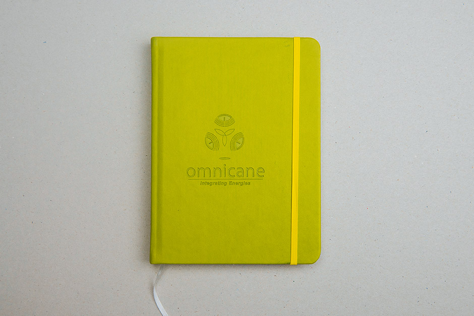 Notebook Omnicane, printed by Précigraph