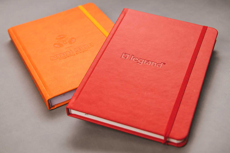 Notebook Omnicane; Legrand, printed by Précigraph