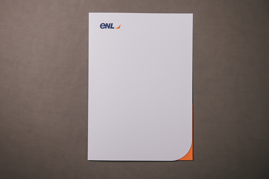 ENL folder, printed by Précigraph