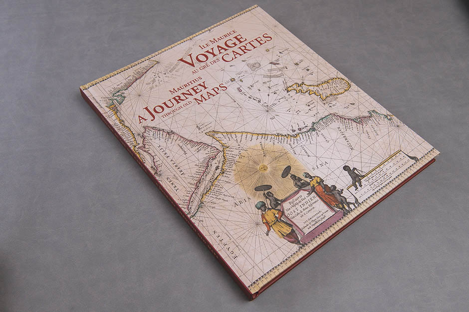 Mauritius a Journey through old Maps book, Éditions Vizavi, printed by Précigraph