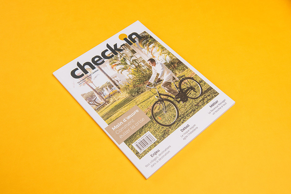 Magazine Check-In Ahrim, impression Précigraph