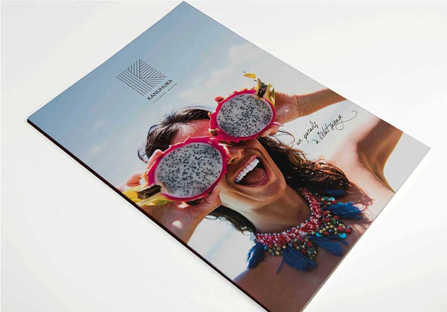 Précigraph - Hot off the press, Kanuhura Brochure