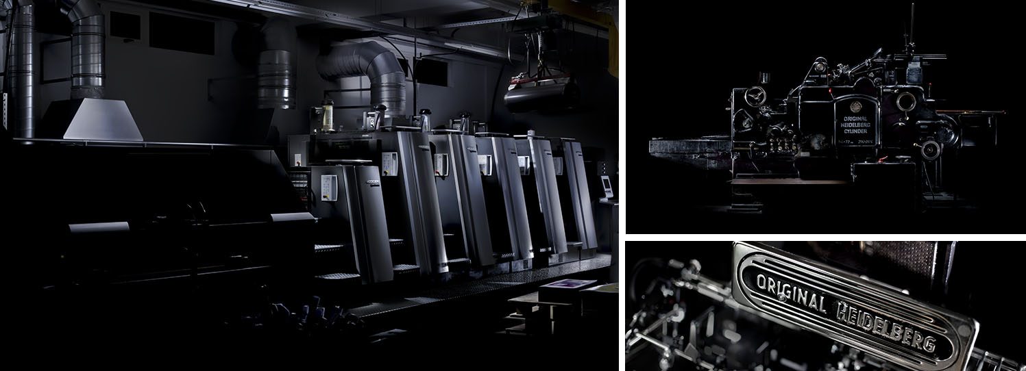 Précigraph, Citizenship -  The new Heidelberg XL75 Anicolor offset press and the Heidelberg cylinder press