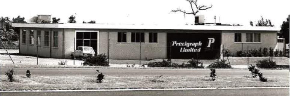 Précigraph, Histoire - Ancien bâtiment