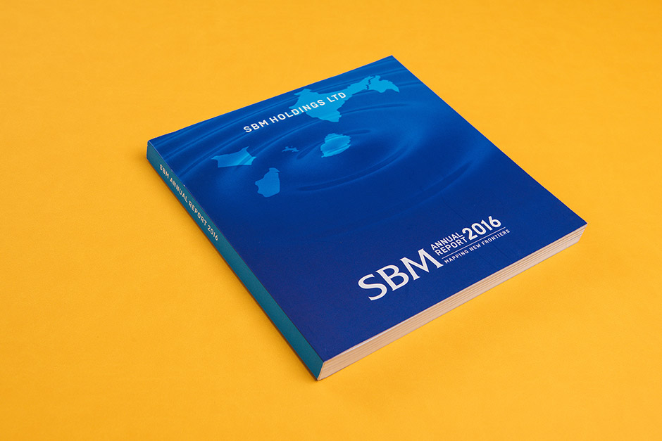 State Bank of Mauritius Annual Report printed by Précigraph