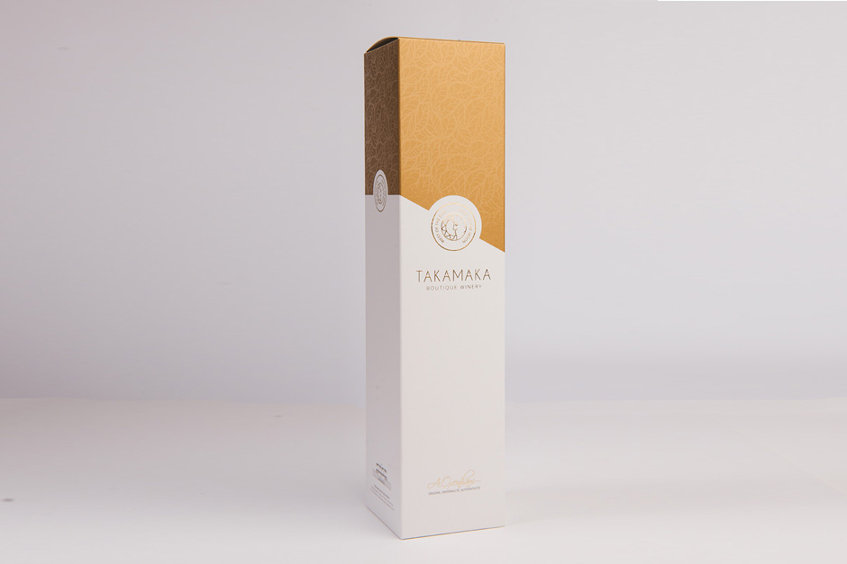 Packaging Takamaka, impression Précigraph