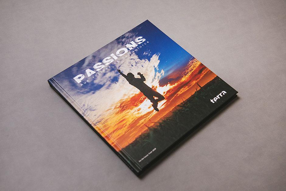 Livre Passions, Terra, impression Précigraph