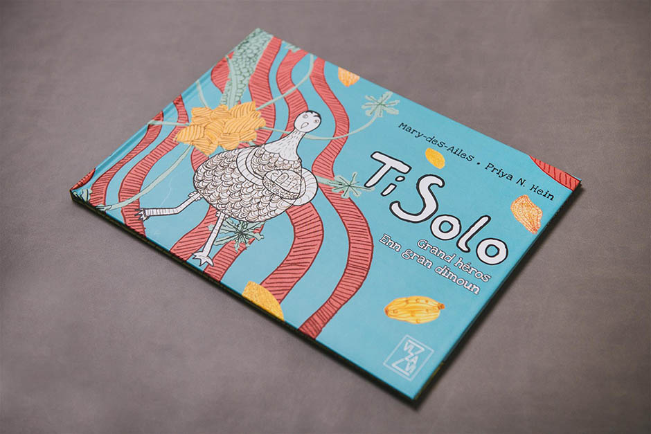 Ti Solo book, Éditions Vizavi, printed by Précigraph